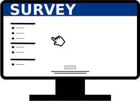 Survey logo or icon