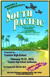 Program from Tualatin High School 2016 Production