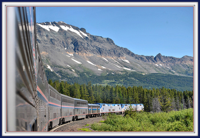 Amtrak Empire Builder via Flickr; image by Loco Steve)